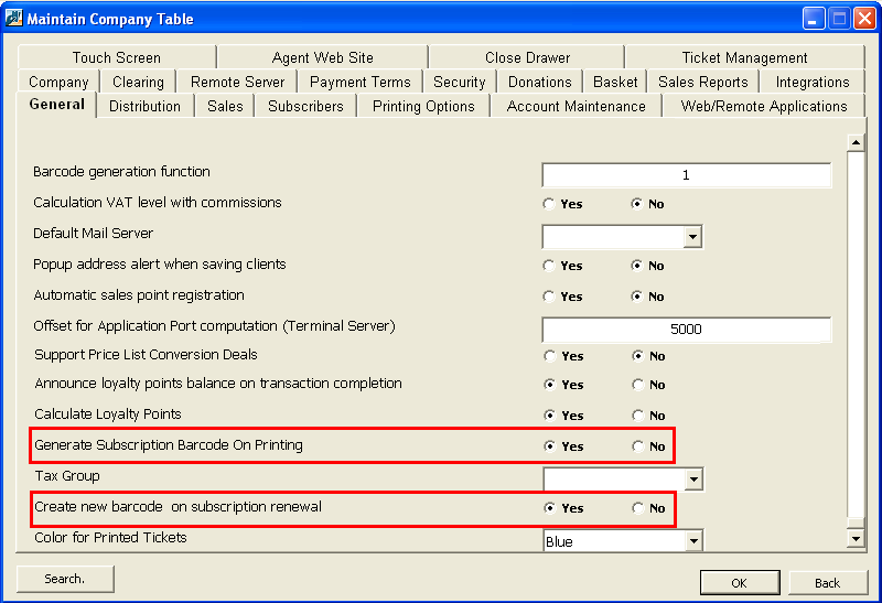WIRED BARCODE SCANNING IN THE PATRON EDGE 11 Set Company Parameters for Generating Membership Barcodes If you are generating membership barcodes, you can set a company parameter in Administration