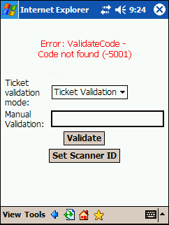 68 CHAPTER 2 Troubleshoot Wireless Barcode Scanning This section lists common error messages that can appear when wireless scanning is not working as expected.