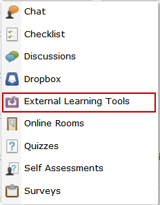 Creating a Collaborate Classroom Link in Desire2Learn The following explains how to create a link to the Blackboard Collaborate Tool using the Content tool in Desire2Learn. 1.