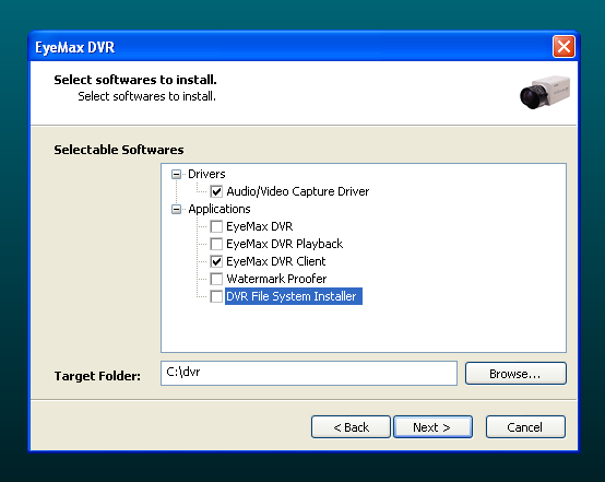 2. Installing Client Software. There is few ways to install Client Software on remote computer. You can use Eyemax installation CD.