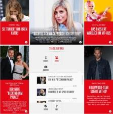 BUNTE presenting star news in an innovative way iphone App, Mobile Web ipad App BUNTE offers all the latest news on stars and lifestyle trends from Europe s largest people magazine on mobile phones.