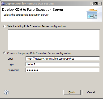 2. Populate the fields with the details of your RES on WebSphere Application Server for z/os, as shown in Figure 15-28.