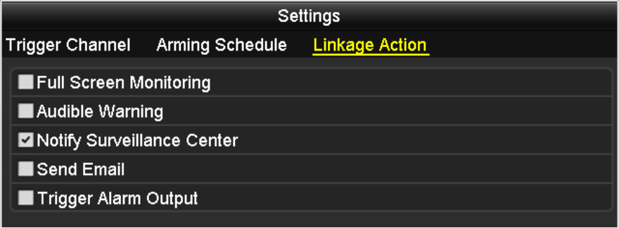 You can also use Copy to copy an arming schedule to other days. Click Apply to save the settings. Note: Time periods shall not be repeated or overlapped. 4.