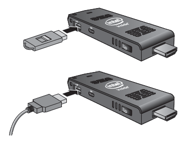 Use the USB 2.0 Port Use the USB 2.0 port to: - Install software from a CD or DVD in a USB optical drive.