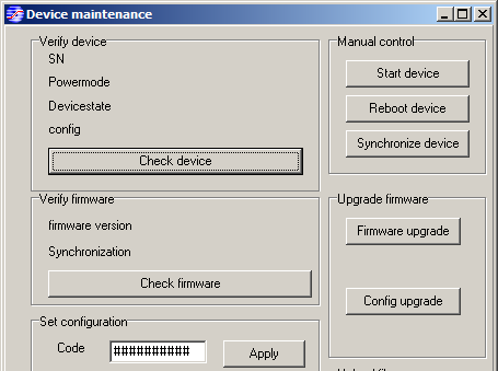 "3. In the pop-up window you can click on ""Check firmware"" to verify the number of the firmware version currently installed on your instrument 1. Then click on ""Firmware upgrade""."