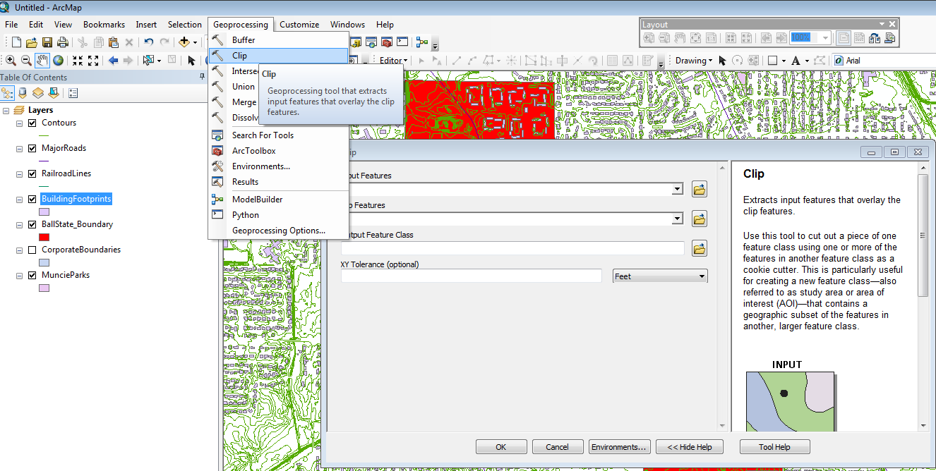 Ball State University Libraries GIS Research and Map Collection Converting GIS Datasets into CAD Format Author: Angela Gibson, 6/13/2014 Overview: One of the most common requests from students is for