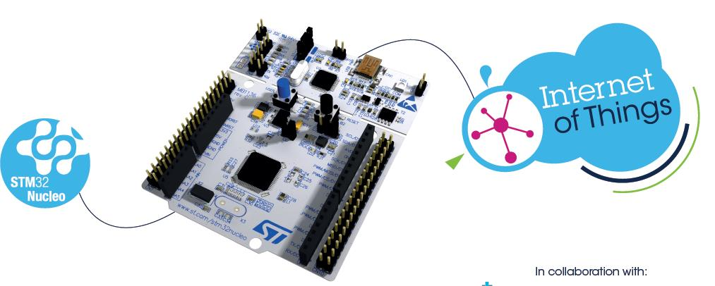 Examples of Smart Objects building blocks BlueNRG Bluetooth low energy wireless network processor http://www.st.