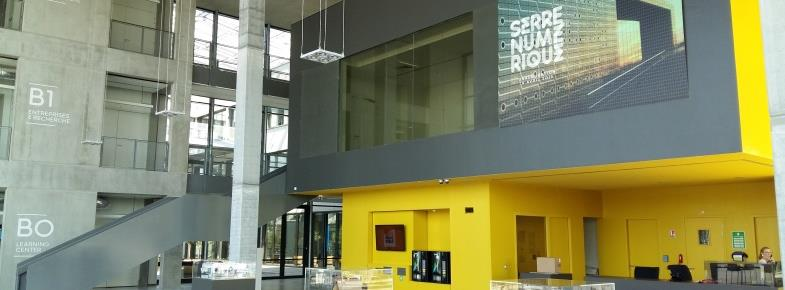 Valenciennes, attractive city Rives de l'escaut Digital Creativity Centre In the heart of the NeOval urban area A focus of excellence in digital creativity and serious games The Digital Creativity