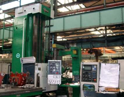 6. WORKSHOP AREA CNC Machining Centre