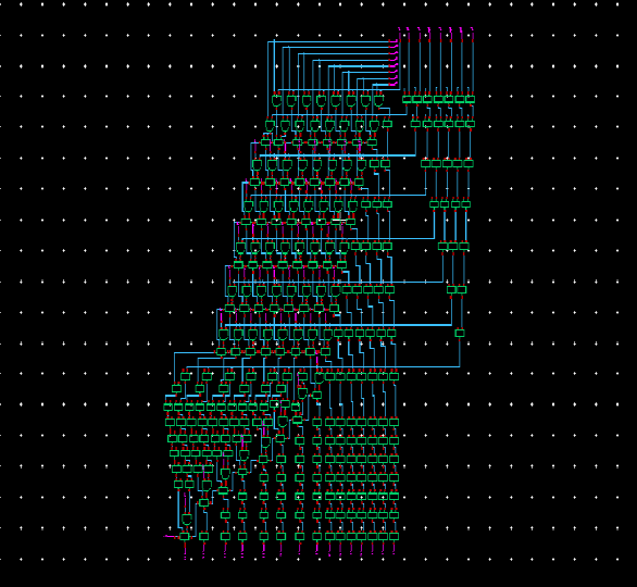 flip-flops, a pipelined array multiplier has been designed using the pro-posed clocking scheme. The multiplier is 8x8-bit pipelined multiplier pipelined with SCCER flip flops.