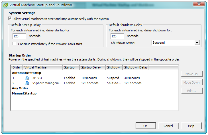 Enable the Allow virtual machines to start and stop automatically with the system option Configure Shutdown of Virtual Machines on Hyper-V Server In order for the virtual machines to be shut down