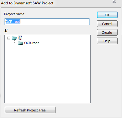 4. Choose a server path so that the project will be added to source control successfully.