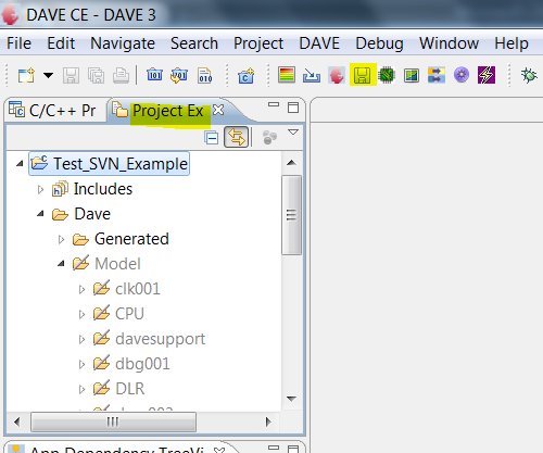 Project to be imported to a SVN Repository Step3: Select Active Project to be source