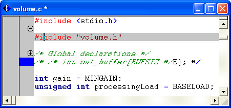 Text Editor Figure 4-10. Selective Display 4.2.4 Setting Auto-Save Defaults The text editor can periodically save your working files to prevent loss of work in the event of a system crash.