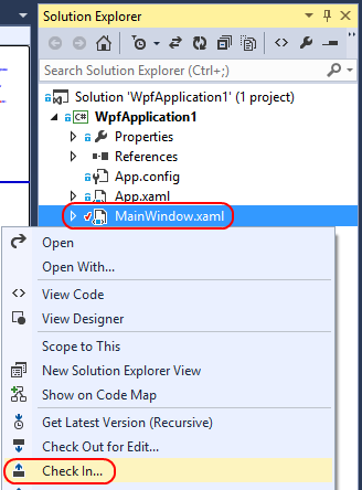 9. In Solution Explorer, right-click