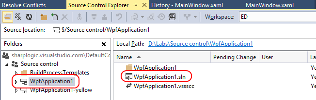 16. Since there was a conflict over the background color change, Visual Studio can t automatically complete the merge.