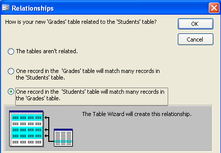 Click on Next to advance to the next step of the wizard. 2. For the second step, name the new table by typing the name of the table into the space provided.