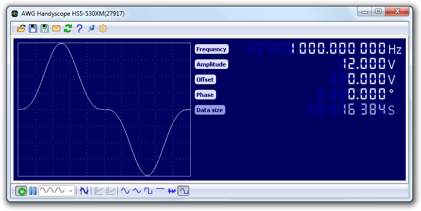 Arbitrary Waveform Generator 5 An arbitrary waveform generator (AWG) can be used to generate standard as well as arbitrary signals.