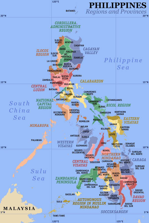 The Republic of the Philippines Archipelagic surface area of 115,831 square miles, with