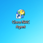 To Log back into the wireless network Double click on the Cisco NAC Agent icon on the desktop and logon again.