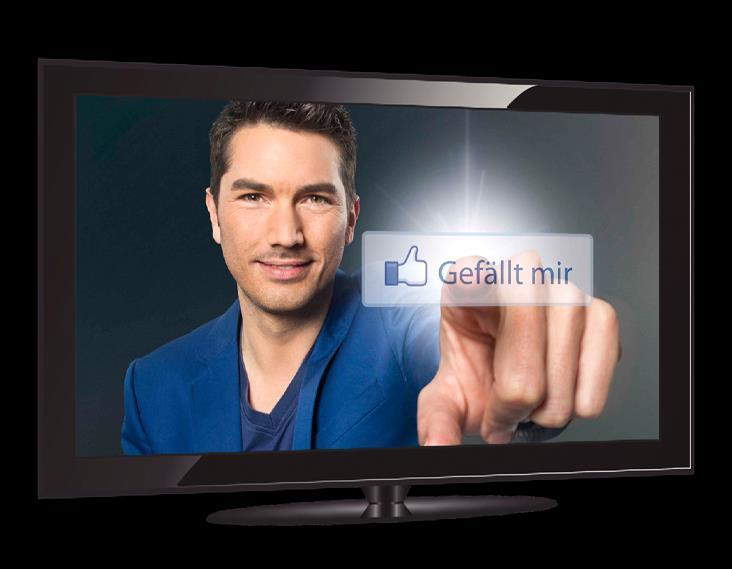 1 2 3 4 Broadcasting German-speaking / Ad Market Performance New P7S1 digital response portfolio drives TV impact Digital Extension TV brand extension TV retail extension by HbbTV TVSMILES extends TV