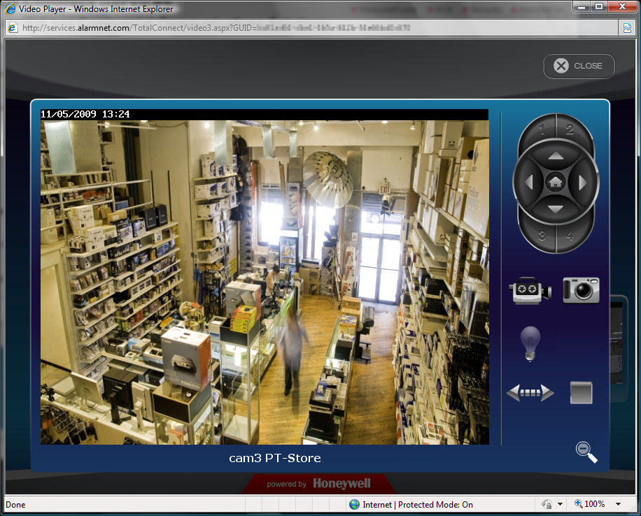 ip Cameras Online Help Guide 5 This dedicated camera viewing window provides a larger live video view. The tool buttons available will depend on the ip camera model.