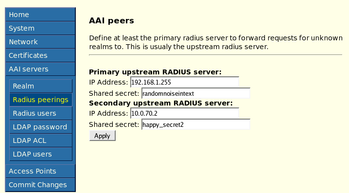 freeradius eduroam If you are like me and need to set up a freeradius server for eap authentications every so often, each time do you also find yourself having a little hard time trying to refresh your memory well, after that happened to me for a couple of times, i found that a incremental and systematic way of.