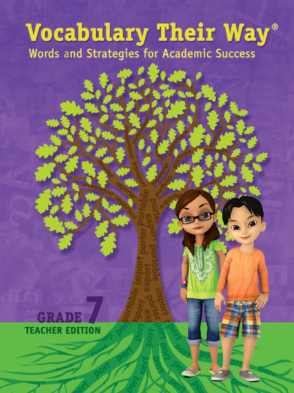 Vocabulary Their Way incorporates many strategies for vocabulary acquisition and use.
