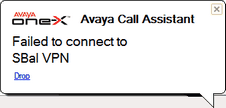 one-x Call Assistant: one-x Call Assistant additional features 11.7.2 one-x Call Assistant Messages When you make and receive calls, the one-x Call Assistant displays the call progress.