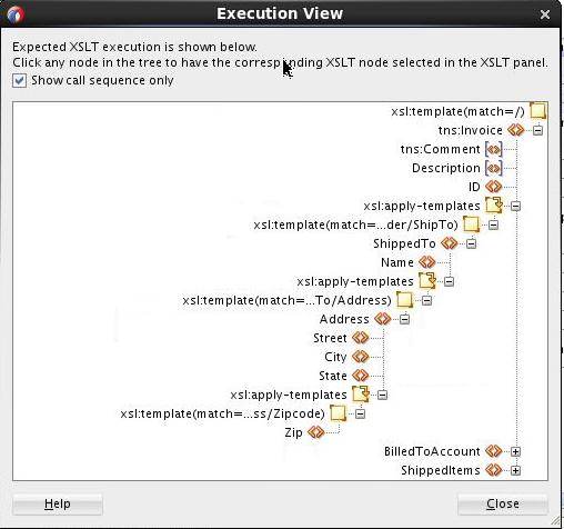 XSLT Supports complex, large-scale XSLT Oracle