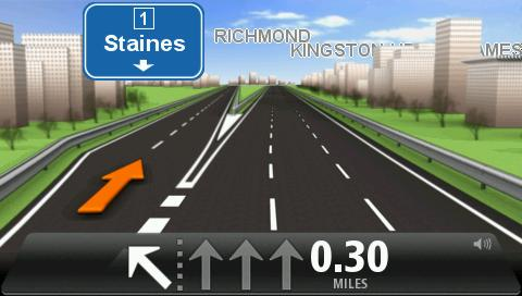 Advanced Lane Guidance About lane guidance Note: Lane guidance is not available for all junctions or in all countries.