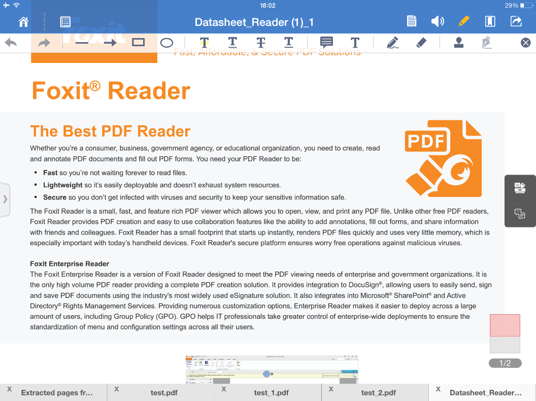 A C Open a Commented PDF File A: Tracker: track and learn the detailed information of email-based reviews you have joined, including the initiator, reviewers, statuses, and more.
