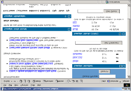 Figure 21: WebSphere Server displays available local and remote portlets The user can select a proxy for a remote portlet like any local portlet.