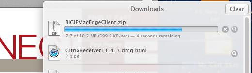 Mac VPN Edge Client. 2.
