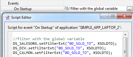 Global Parameters Global parameters for Design Studio application Defining global parameters on application level Global parameters can be passed through URL (RRI scenarios) Use