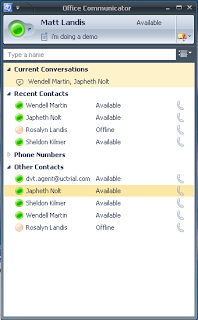 6. Presence (MyClient) Presence is an application coordinated with the IP-PBX that connects your PC and IP phone.