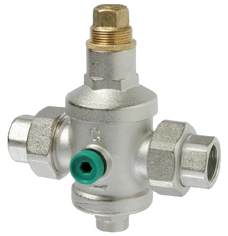 FG 502 PRESSURE REDUCER PESANTE Maximum recommended working pressure: 25 bars The pressure