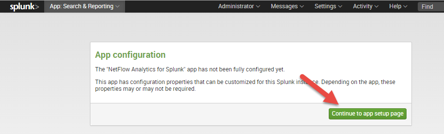 Installation Installing into a Single Splunk Server 1) Download Technology Add-on for NetFlow from Splunkbase https://splunkb