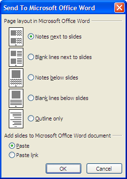 In the Paste Special dialog box, select the option Picture (Enhanced Metafile) and click OK. Note: This option usually produces the best results.