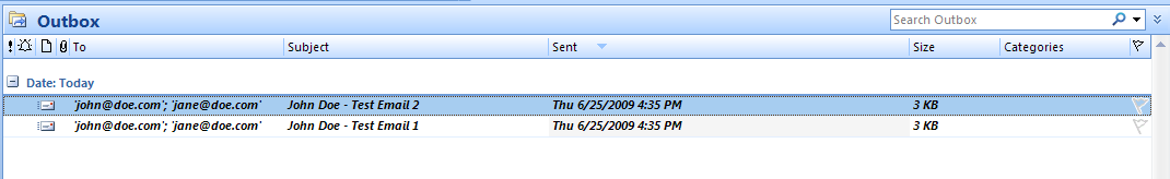 This tells Outlook you still want the email sent on the Defer Until date (it won t immediately be sent out).