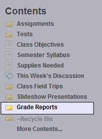 Posting Reports to Edline If your district or school uses a School Information System (SIS) or gradebook software program (such as GradeQuick or Easy Grade Pro) to create reports such as grade