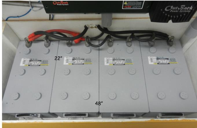 Battery Choices for Backup Going Big Isn t Smart 1-2 days of critical loads battery capacity is prudent. More than 2 days is foolish. Most outages are less than 4 hours.