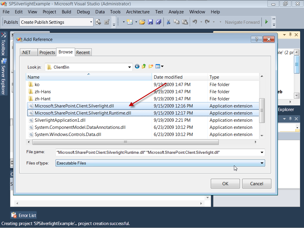 Task 2: Write code to access and render SharePoint List Data 1.