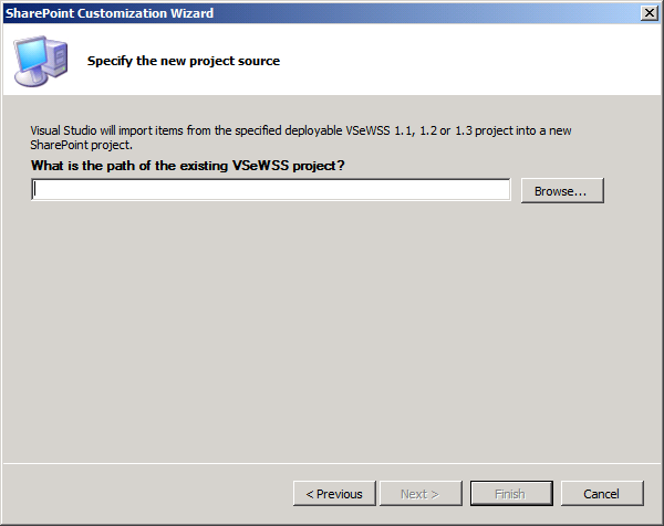 Figure 7 Visual Studio Extensions for Windows SharePoint Services Step 2 SharePoint Designer 2010 SharePoint Designer 2010 is a fully functional participant in the solution creation lifecycle for