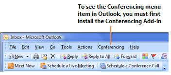 40 Microsoft Office Communicator 2007 R2 Getting Started Guide If you need to: everyone s calendar, and use voice, video, and desktop sharing Schedule a Web conference where you use Web conferencing
