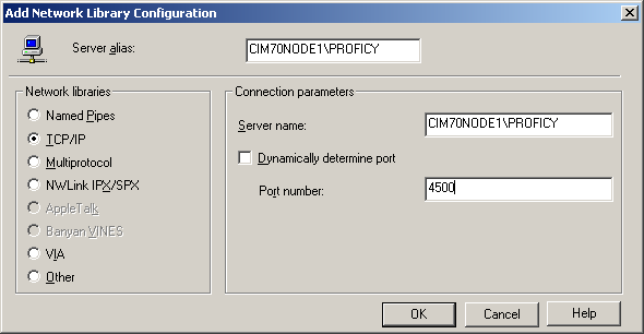 6. Click on the Next button. A dialog should appear as follows: Figure 9 Select the authentication type as With SQL Server Authentication using a login ID and password entered by the user.
