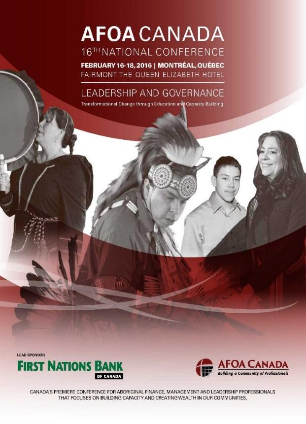AFOA Canada National Conference Largest Aboriginal capacity development conference 1000+