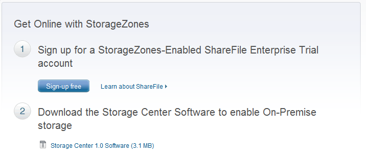 Exercise 1: Setting up a ShareFile Account Overview In this exercise we will set up a new trial ShareFile account and download a test document.