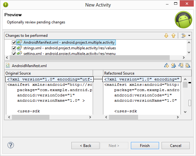 How to Have Multiple Activity (cont.) 1.Right click on the project in Project Explorer 2.select New > Other 3.