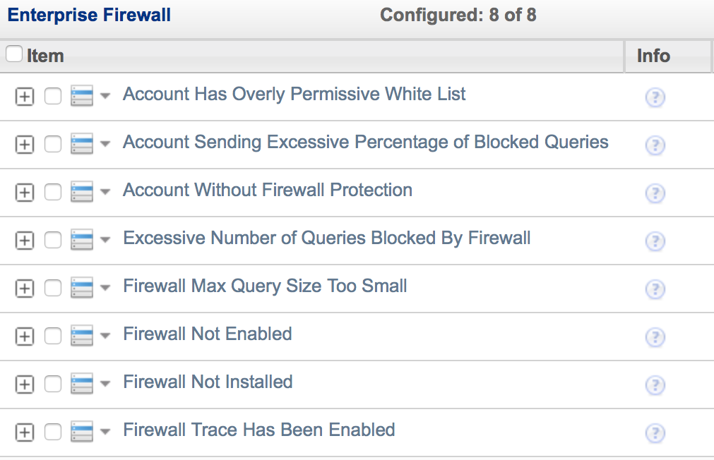 MySQL Enterprise Firewall Real Time Protection Queries analyzed and matched against White List Blocks SQL Injection Attacks Positive Security Model Block Suspicious Traffic Out of Policy Transactions